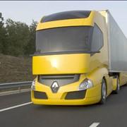 Автомобильные перевозки грузов. фото