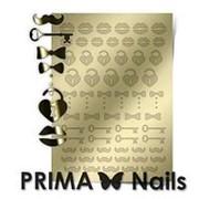 Prima Nails, Металлизированные наклейки FSH-04, золото фото
