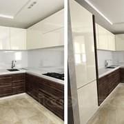 Кухня современная 9 м 2глянцева фото