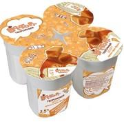 Десерт творожный ириска-крем-брюле 3,5%, 120г фото