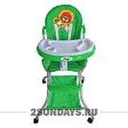 Стульчик для кормления BARTY-KIDS 8013 зелёный фото