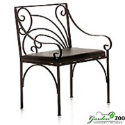 Кресло кованое 303-31 фото