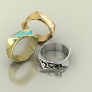 Кольцо RNG020381 Са?ина (Алтын 585) Фианит фото