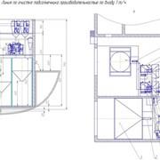 Линия по очистке подсолнечника производительностью по входу 1 т/ч фото