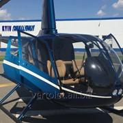Аренда вертолета Robinson R66. фото