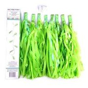 Праздничная гирлянда Тассел зеленые кисточки фото