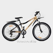 Велосипед 26 д. XM261D Shimano черно-золотой фото