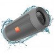 Портативная акустическая система JBL Charge 2 Plus Gray CHARGE2PLUSGRAYEU фото