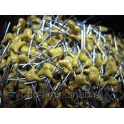 Многослойный керамический конденсатор NPO (390pf; 50v ±5%) - Аналог К10-17. фото