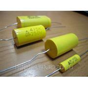 Пленочный аксиальный конденсатор CL-20 (0,1mkf; 630v ±10%) - Аналог К73-11. фото