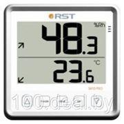 Цифровой термогигрометр RST 02415 с большим дисплеем, белый корпус фото