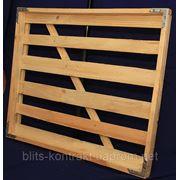Лотки для хлебо-булочных изделий деревянные фото