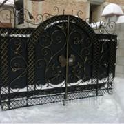 Ворота кованые Белокрыльник №14 фото