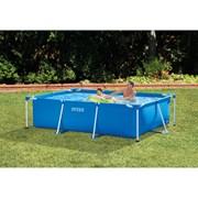 Каркасный бассейн прямоугольный 300х200х75см Intex фото