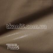 Ткань Кожзам на ХБ основе (коричневый) 3636 фото