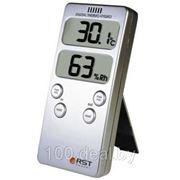 Цифровой термогигрометр RST 46018, дом/улица, серебристый корпус фото