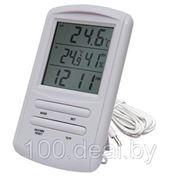 Цифровой термогигрометр TM898 (с часами) фото