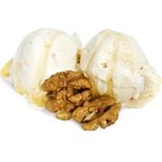 Мороженое медовое с грецким орехом фото