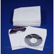 Конверт для СD дисков (бумажный) фото