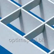 Решетчатый настил алюминиевый фото