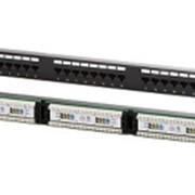 """Патч-панель NXT 19"""" 2U 32 порта RJ45 UTP кат.5e Dual IDC черный фото"""