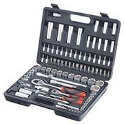 Универсальный набор инструмента STAB Tools набор торцевых головок 1/4» и 1/2» 94 предмета TK10009Z СУПЕР ЦЕНА фото