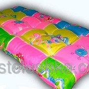 Ватные матрасы матрацы для пансианатов, дач, детских садов, строительных организаций поликотон 60х120 см фото