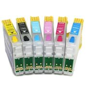 Перезаправляемые картиджи Epson (ПЗК Epson) Stylus Photo 2100/ 2200 T0341-T0348 фото