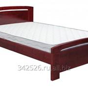 Односпальная, полуторная, двуспальная кровать из массива фото