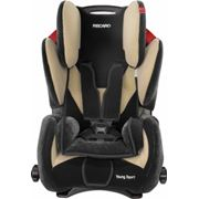 Автокресло RECARO Young Sport New группа 1-2-3 фото