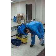 Чистка и дезинфекция санитарных зон фото