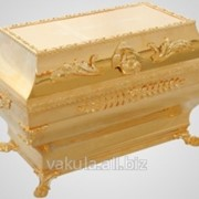 Ковчег для частиц святых мощей № 1 золочение фото