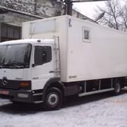 Изготовление домов на колесах на базе грузових автомобилей фото
