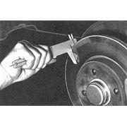 Проточка тормозных дисков не снимая с автомобиля фото