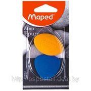 Ластик «Epure-mini» 2 шт. в блистере. цветн. фото