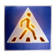 Светодиодные дорожные знаки фото