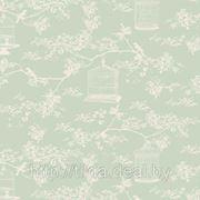 Хлопковая ткань Birdcage Mint (Winter Memories) фото