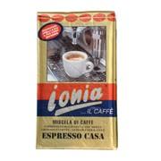 Кофе натуральный жаренный молотый IONIA ESPRESSO CASA 250гр.(Италия) фото