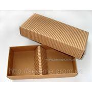 Коробка подарочная из крафт картона фото
