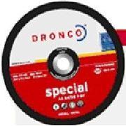 Круг шлифовальный по металлу Special 125x6x22,2 AS30R/T27 Dronco фото