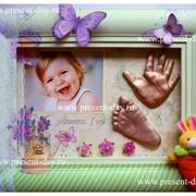 Изготовление детских слепков и 3Д-копий рук фото