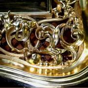 Позолота сусальным золотом (960-ой пробы) фото