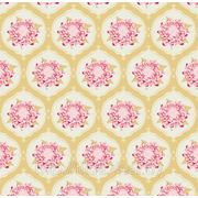 Ткань Tilda Mumflower, Olive, оливковая фото