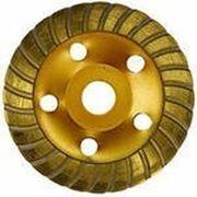 Чашка алмазная турбо ф125х22 для камня, бетона (GermaFlex) (Наличие и стоимость уточняйте) фото