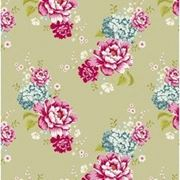 Ткань Тильда Flowerpatch Khaki фото