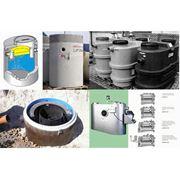 Сепараторы жира и нефтепродуктов для очистки сточных вод Установки для переработки осадков фото