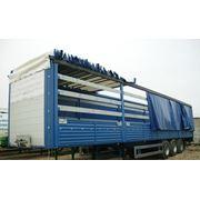 Пошив, ремонт тентов на грузовые автомобили фото