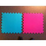 Покрытия для детских площадок залов игровых комнат из вспененного полиэтилена фото