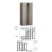 Шкаф комбинированный ШМС-4Б фото