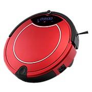 Робот-пылесос Z-Robots Q30 Red (2200 mAh, сухая и влажная уборка, мешок 0,6л, пульт, автоподзарядка) фото